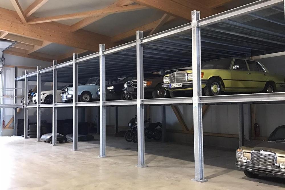 JVG Autologistik - Fahrzeuglager