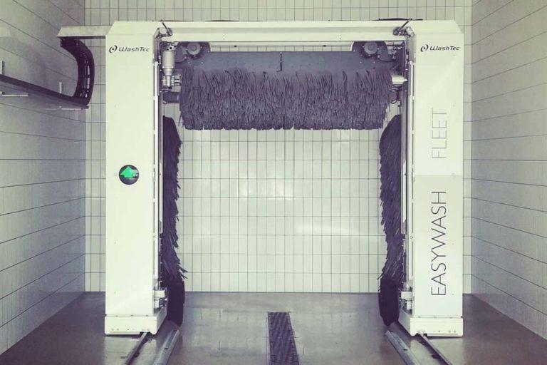 JVG Autologistik- Waschbox
