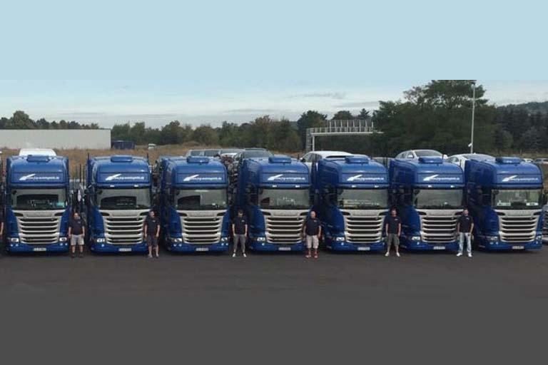 JVG Autologistik LKW Flotte